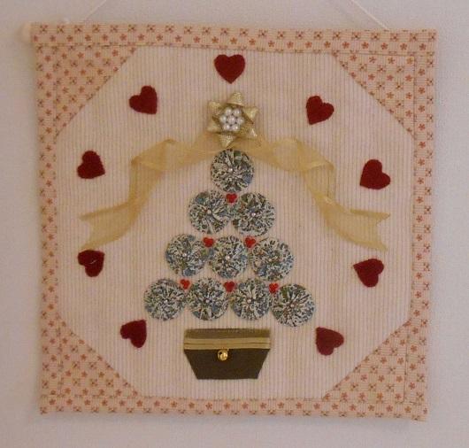 クリスマスツリー ヨーヨーキルト