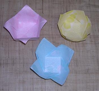折り紙の : 折り紙の箱の作り方 : studental.net