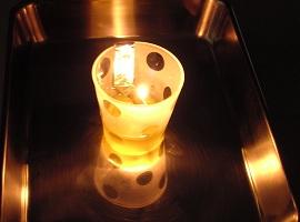 植物油の灯り.JPG