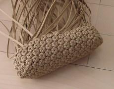 花結び編みバッグ3段目