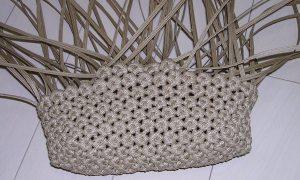 花結び編み5段目